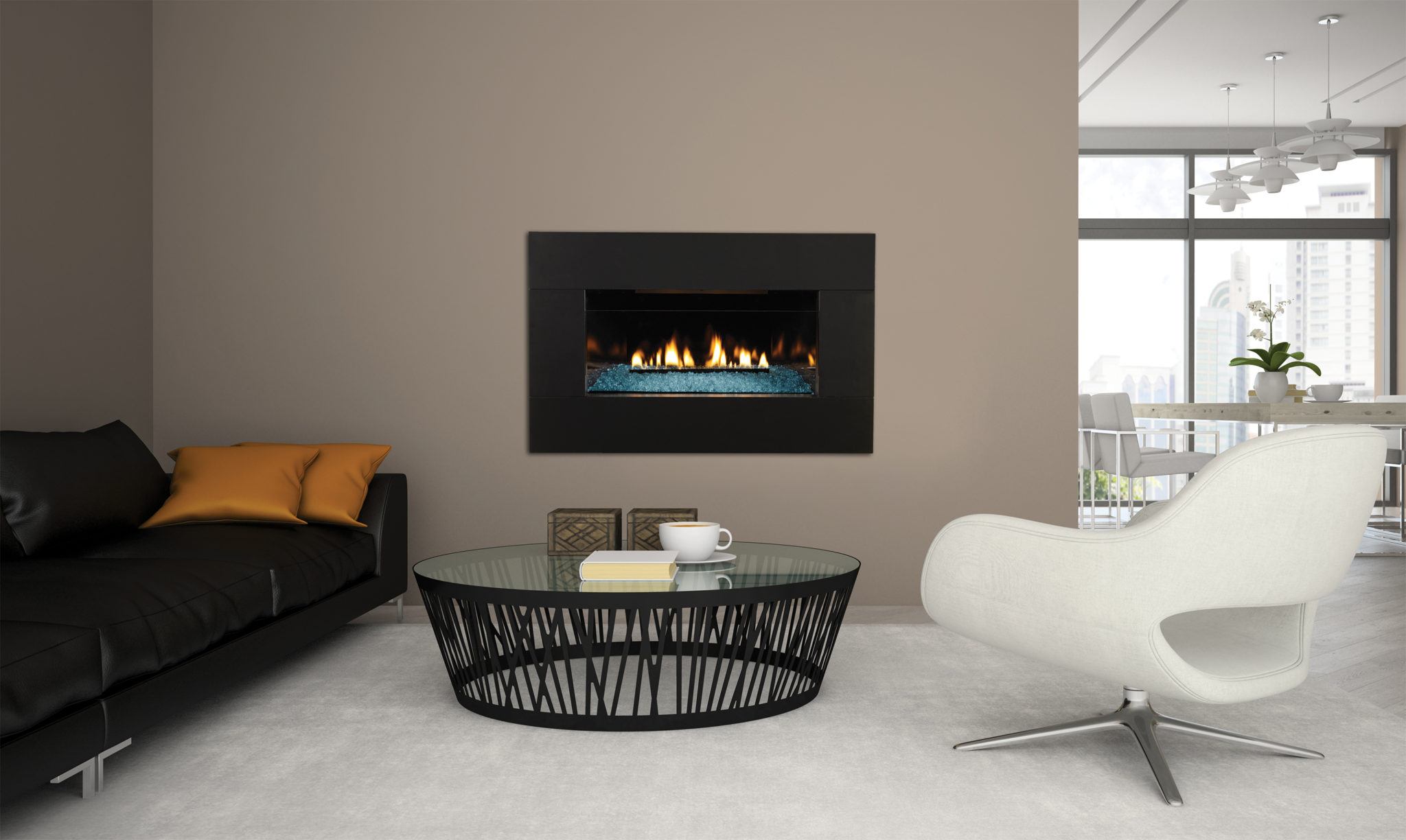empire vent free loft series fireplace shopfireplace com