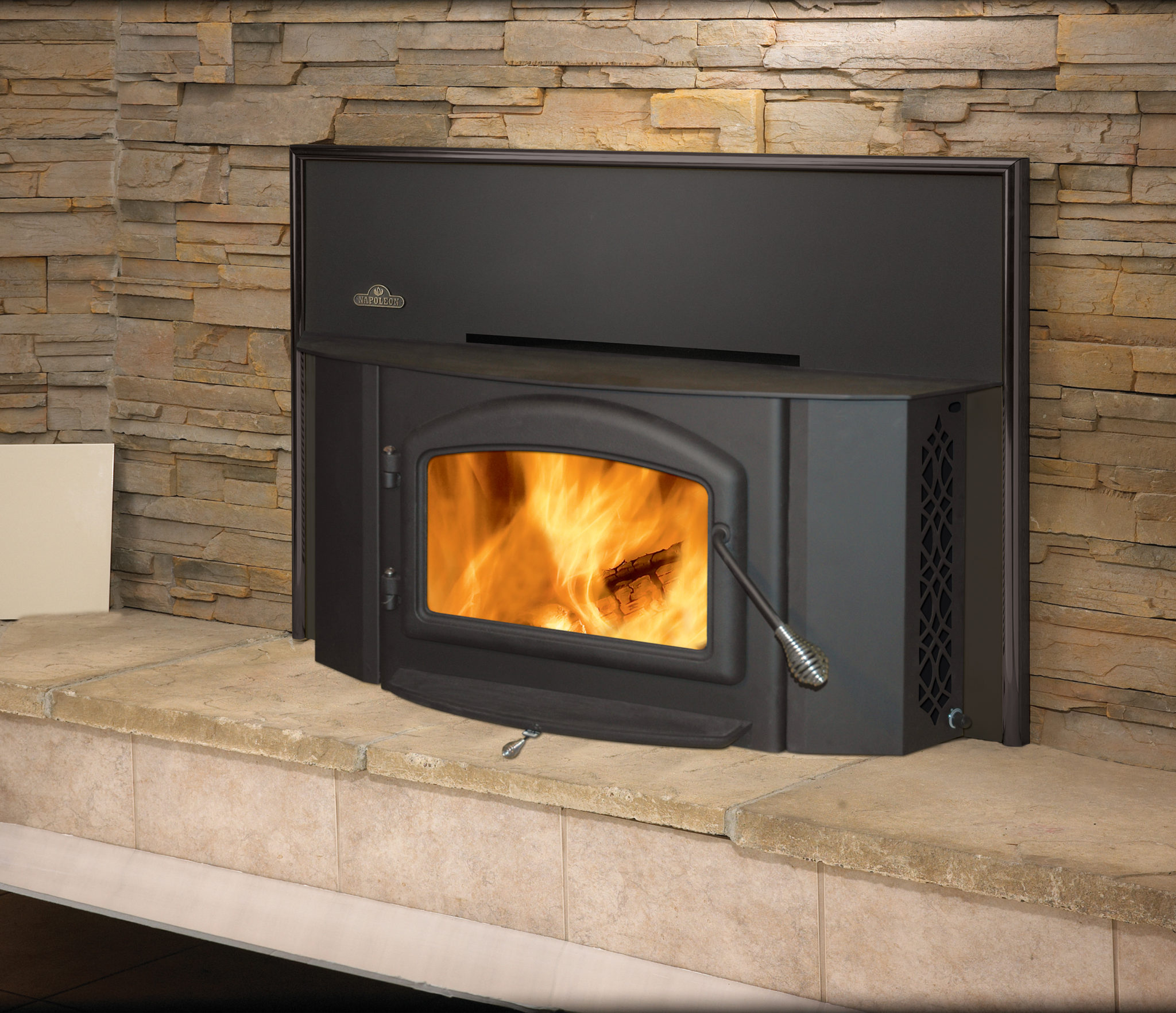 Napoleon Oakdale Series 1402m Wood Burning Insert Shopfireplace Com