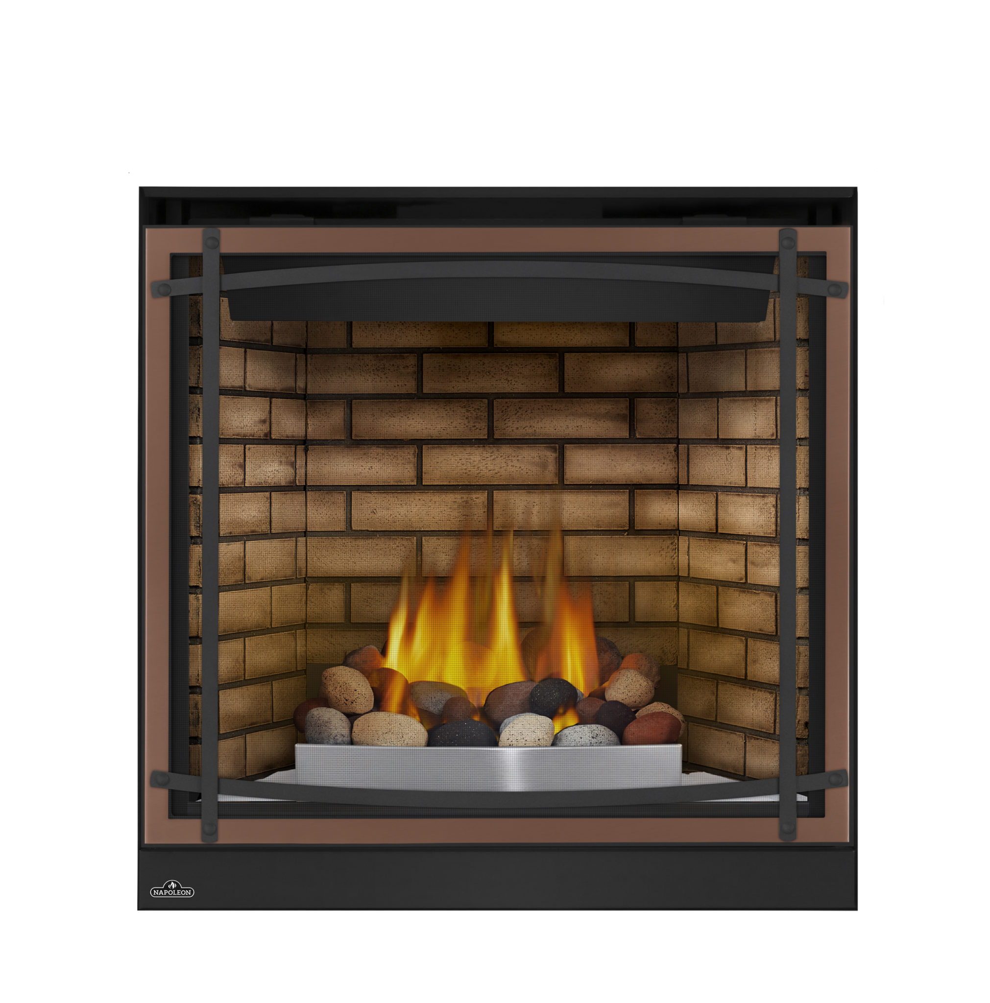 "Fireplace Definition: Napoleon 35"" High Definition Direct Vent Fireplace"